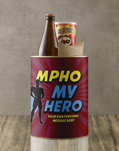 fathers-day: Personalised Super My Hero Bro Bucket!