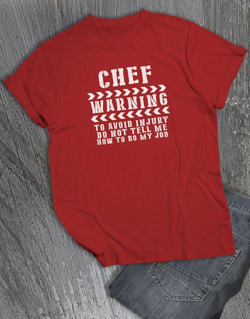 clothing: Personalised Avoid Injury T Shirt!