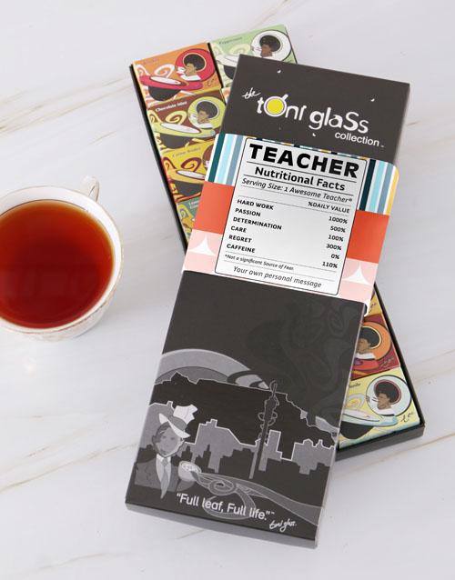 personalised: Personalised Teachers Toni Tea Set!