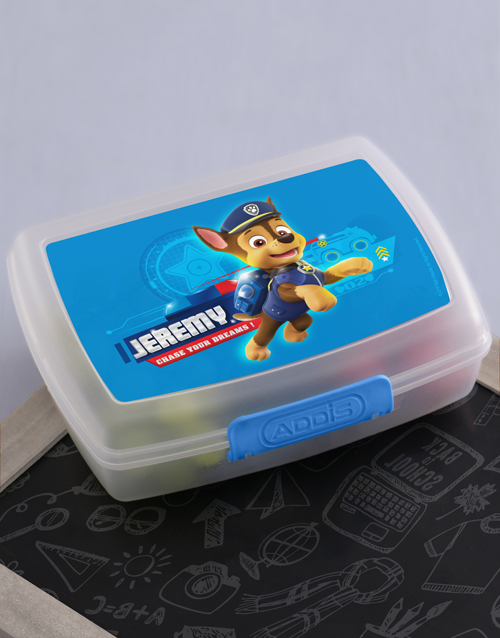 personalised: Personalised Dream Chaser Lunchbox!