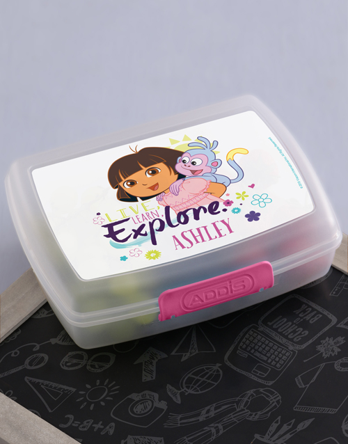 christmas: Personalised Explore Lunchbox!