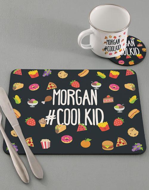 christmas: Personalised Cool Kids Kitchen Set!