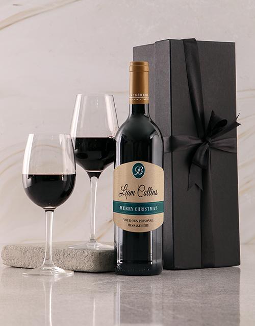 personalised: Personalised Merry Christmas Giftbox!