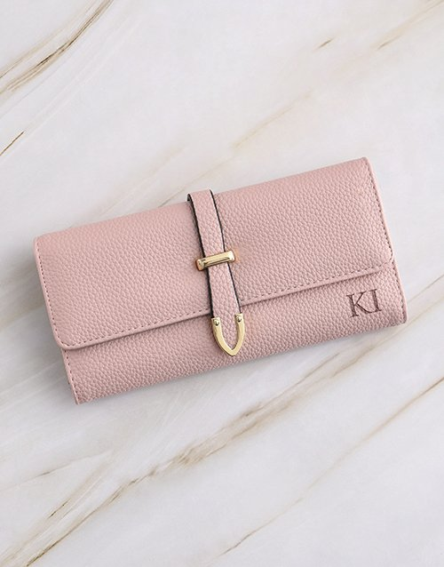 birthday: Personalised Pink Long Purse!