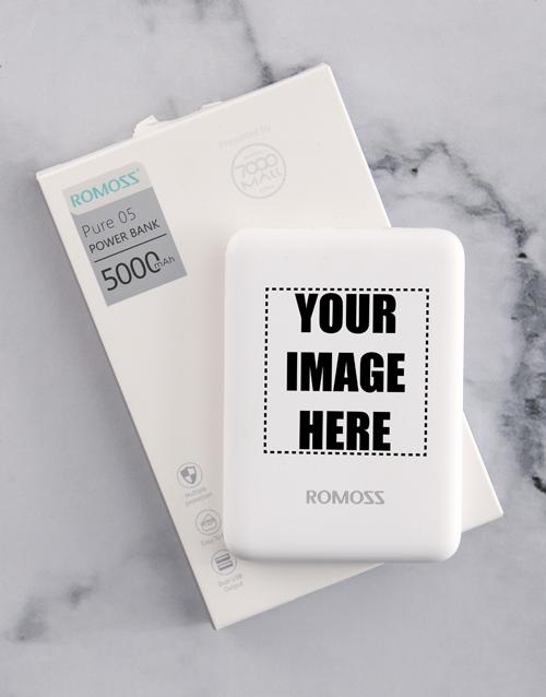 personalised: Personalised Image Romoss Power Bank!