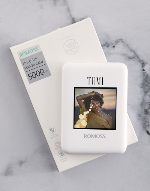 fathers-day: Personalised Photo Romoss Power Bank!