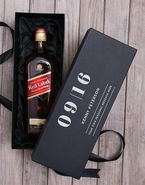 anniversary: Personalised Johnnie Walker Annual Giftbox!