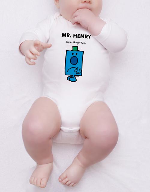 apparel: Personalised Mr Grumpy Onesie!