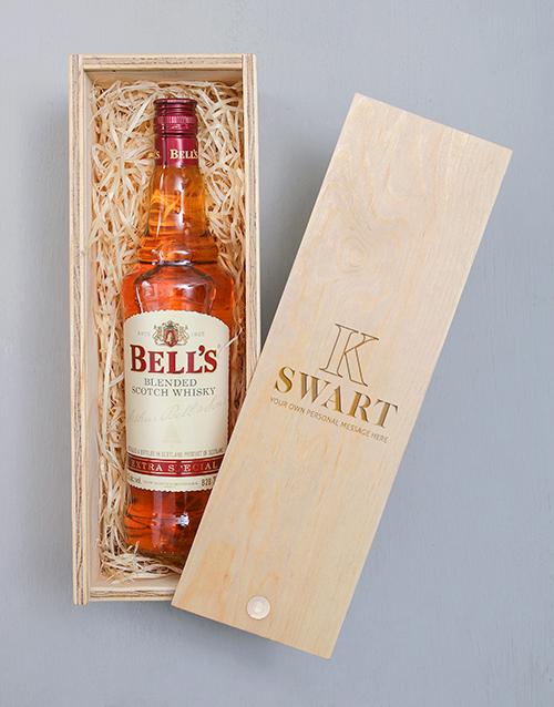 anniversary: Personalised Bells Crate!