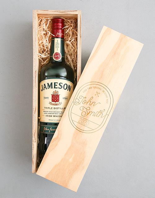 personalised: Personalised Vintage Jameson Crate!