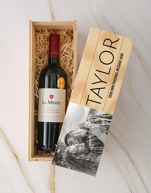 fathers-day: Personalised Photo La Motte Crate!