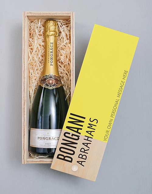 fine-alcohol: Personalised Modern Pongracz Crate!