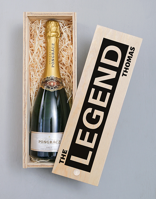 personalised: Personalised Legend Pongracz Crate!