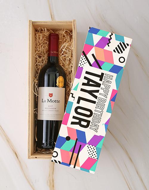personalised: Personalised Birthday La Motte Crate!