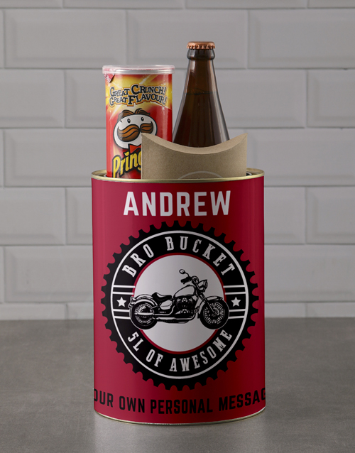 fathers-day: Personalised Wild Thing Bro Bucket!