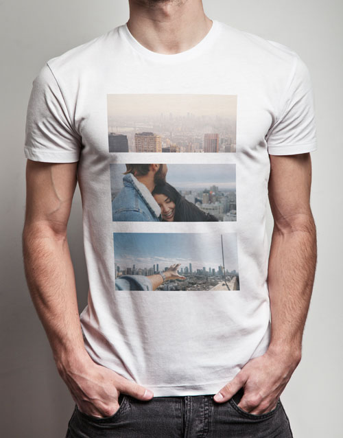 valentines-day: Personalised Triptych Photo T Shirt!