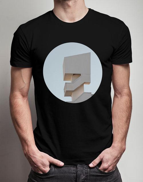 clothing: Personalised Round Photo T Shirt!