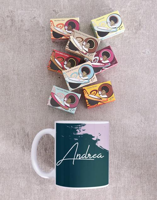 bosses-day: Personalised Modern Painterly Mug!