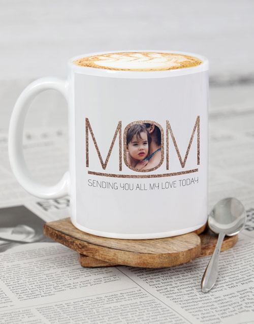 homeware: Personalised Mom Love Mug!