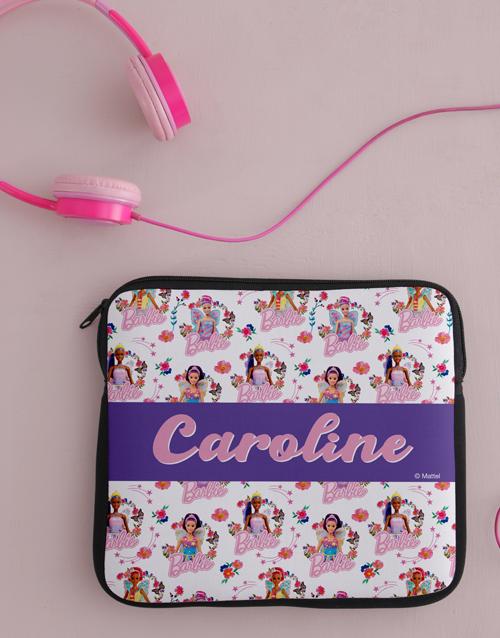 personalised: Personalised Barbie Princess Kids Tablet Cover!