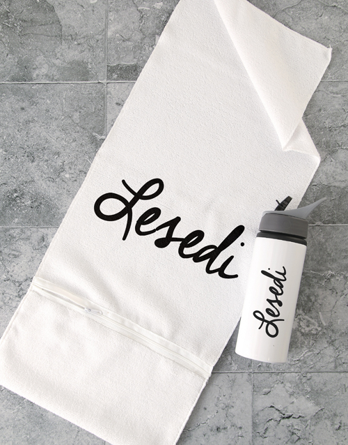 mothers-day: Personalised Signature Gym Towel Set!