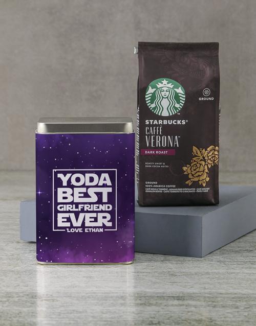personalised: Personalised Starbucks Best Ever Coffee Tin!