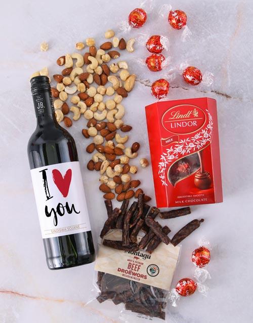 valentines-day: Personalised Gourmet Love Hamper!