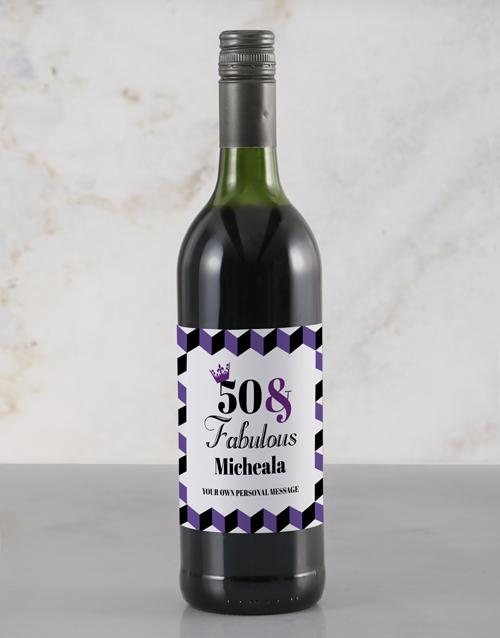 personalised: Personalised Fabulous Rietvallei Wine!