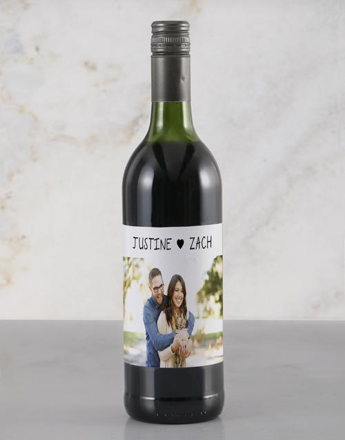 valentines-day: Personalised Heartfelt Photo Rietvallei Wine!