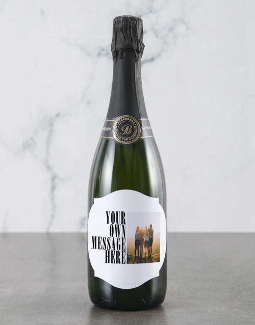 mothers-day: Personalised Modern Photo Backsberg Wine!