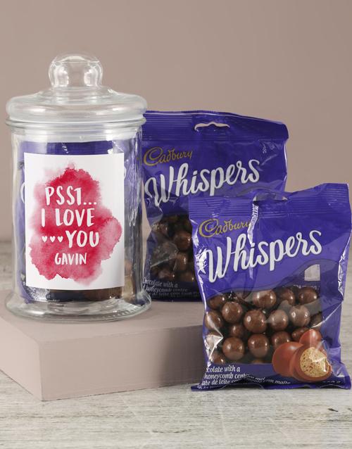 valentines-day: Personalised Whispers Love Jar!