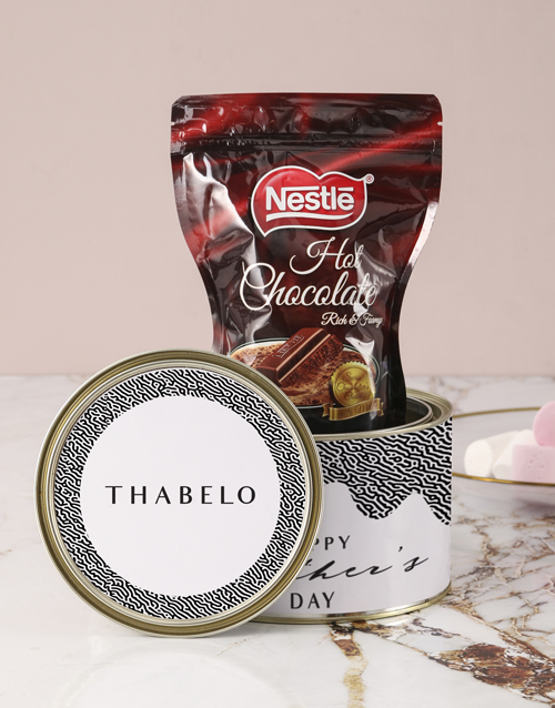 personalised: Personalised Dreamy Hot Choc Tin!