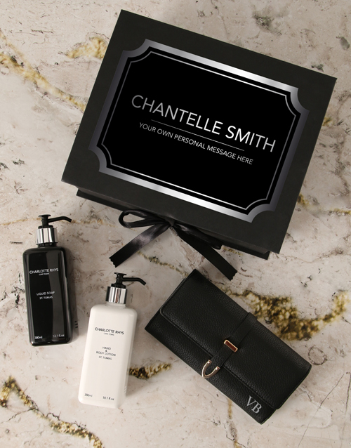 personalised: Personalised Charlotte Rhys Luxury Gift Box!