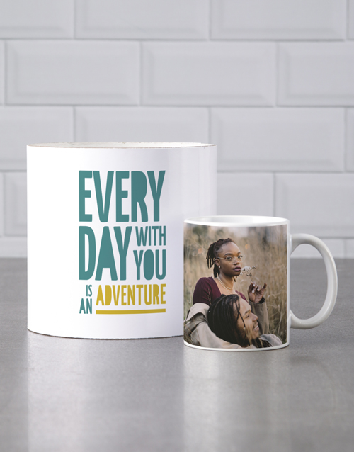 love-and-romance: Personalised Youre An Adventure Mug Tube!