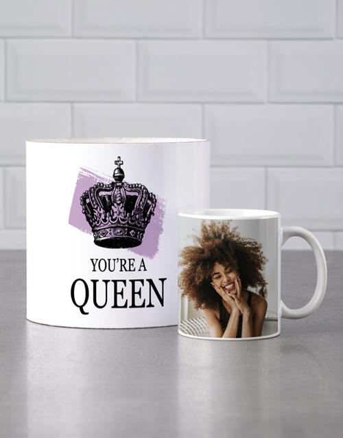 homeware: Personalised Queen Mug Tube!