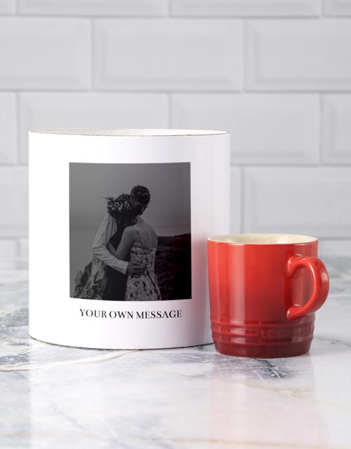 birthday: Personalised Photo Le Creuset Mug Tube!