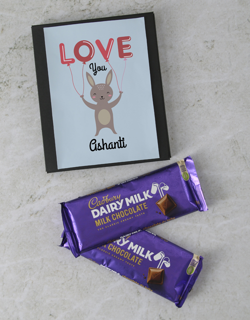 love-and-romance: Personalised The Best Cadbury Card!