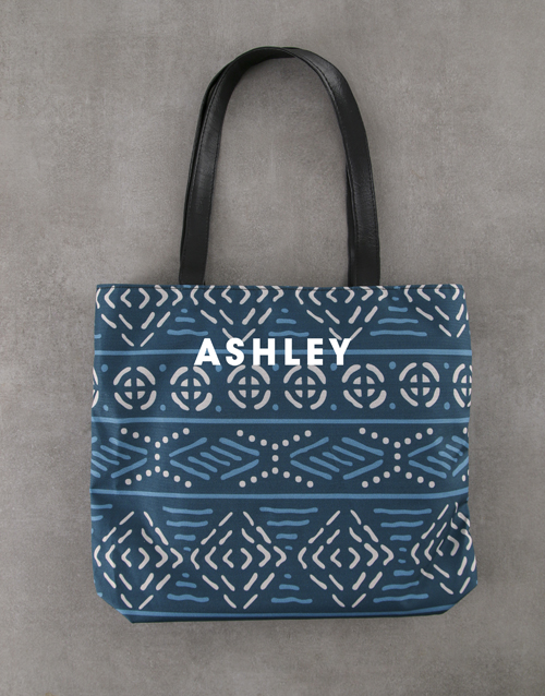 apparel: Personalised Charming Patterned Tote Bag !