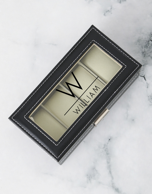 fathers-day: Personalised About Time Watch Box!