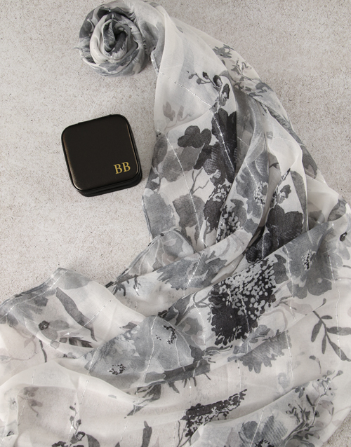 birthday: Personalised Black Jewellery Box!