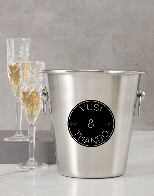 love-and-romance: Personalised Two Name Ice Bucket!