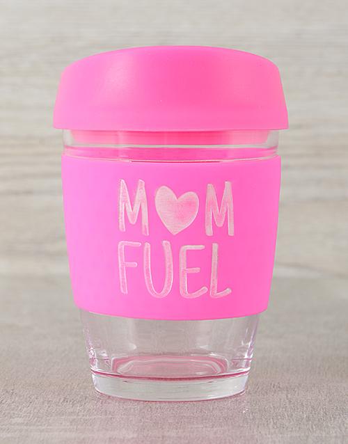 corporate: Personalised Mom Fuel Travel Mug!