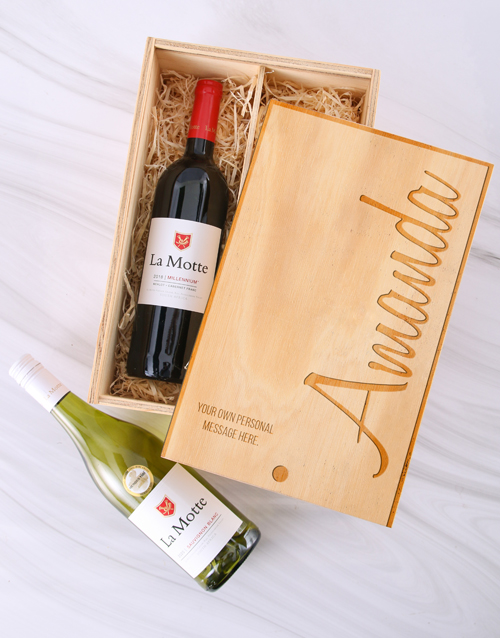 personalised: Personalised Double La Motte Crate!