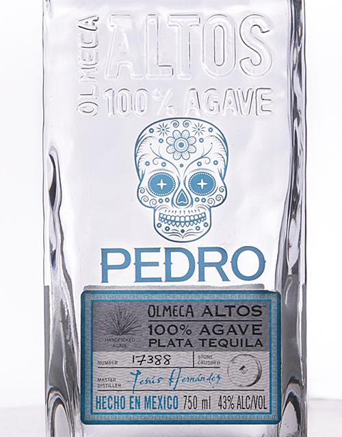 fine-alcohol: Personalised Olmeca Altos Blanco!