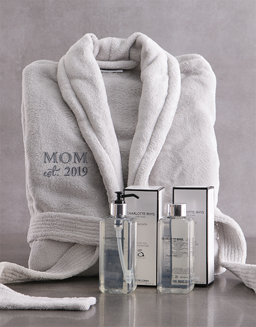 mothers-day: Personalised Gown and Me Time Bath Hamper!