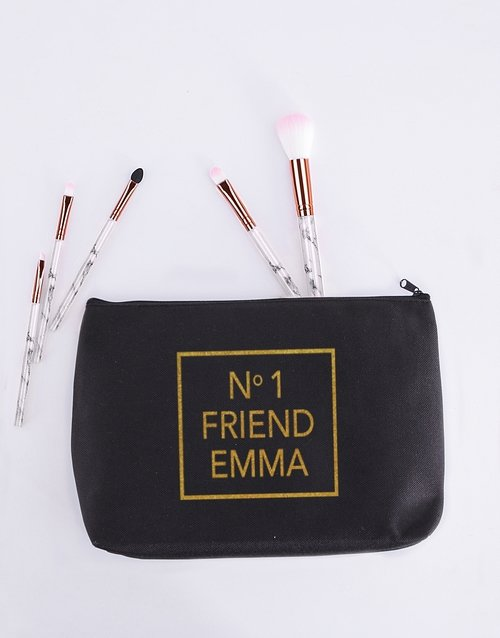 bath-and-body: Personalised No One Friend Cosmetic Bag!