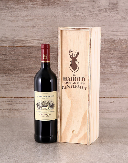 fathers-day: Personalised Gentleman Crate!