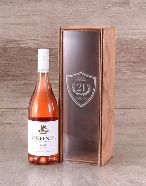 personalised: Personalised Birthday Rose Crate!