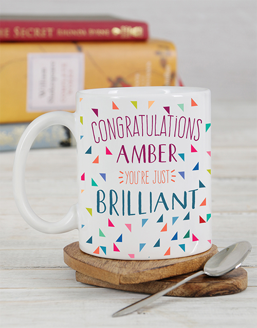 cyber-monday: Personalised Congratulations Mug!