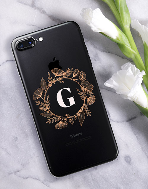 prices: Personalised Flower Crown iPhone Cover!